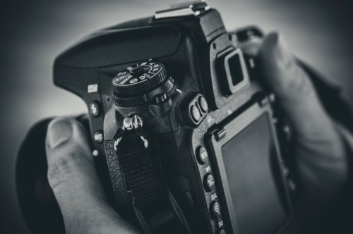 DSLR camera in female hands - slon.pics - free stock photos and illustrations
