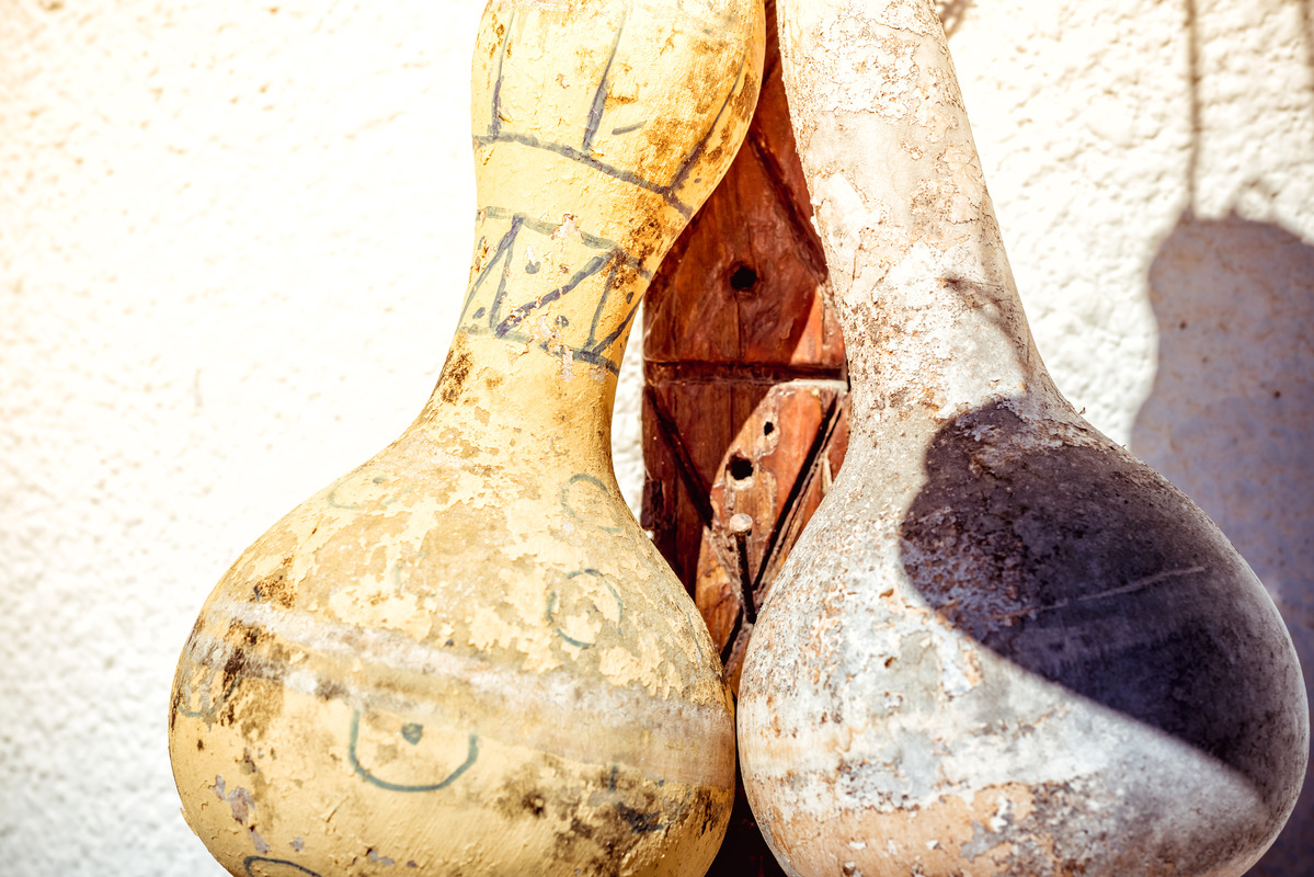 Hanging dried gourds - slon.pics - free stock photos and illustrations