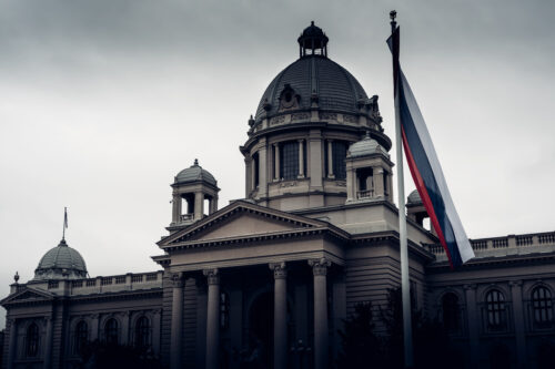 House of the National Assembly. Belgrade, Serbia. - slon.pics - free stock photos and illustrations