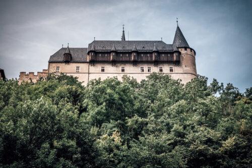 Karlstejn Castle. Central Bohemia, Czech Republic - slon.pics - free stock photos and illustrations