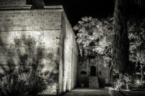 Limassol Castle at night. Cyprus - slon.pics - free stock photos and illustrations