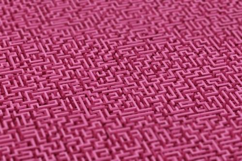 Maze background. 3D illustration - slon.pics - free stock photos and illustrations