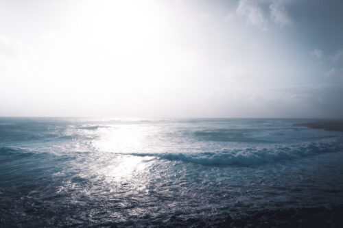 Minimalistic mediterranean seascape - slon.pics - free stock photos and illustrations