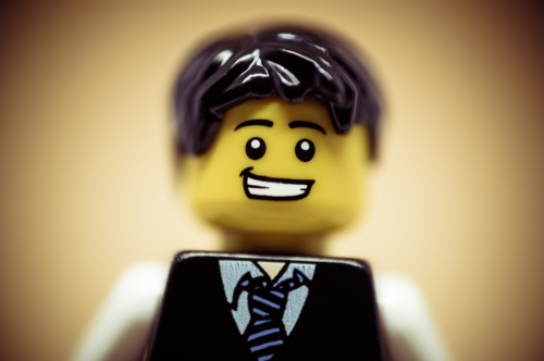 Portrait of a happy smiling businessman - slon.pics - free stock photos and illustrations