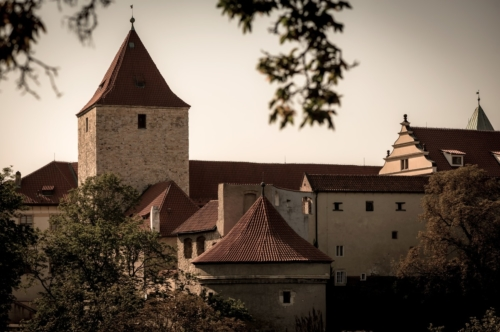 Prague Castle, historic city with Hradcany. Prague, Czech Republic - slon.pics - free stock photos and illustrations