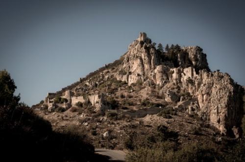 St. Hilarion castle. Kyrenia District, Cyprus - slon.pics - free stock photos and illustrations