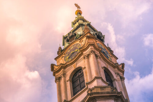 St. Nicholas Church (Mala Strana). Prague, Czech Republic - slon.pics - free stock photos and illustrations
