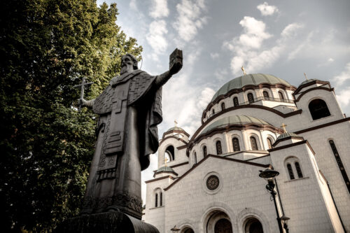 Statue of St. Sava in Belgrade, Serbia - slon.pics - free stock photos and illustrations