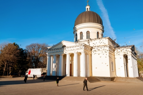 The Cathedral of Christ's Nativity. Moldova, Chisinau. December 03, 2013 - slon.pics - free stock photos and illustrations