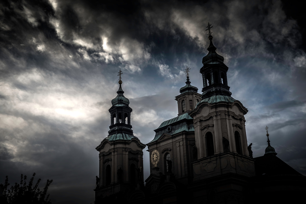 The Church of St. Nicholas. Prague, Czech Republic - slon.pics - free stock photos and illustrations