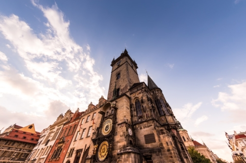 The Old Town Hall. Prague, Czech Republic - slon.pics - free stock photos and illustrations