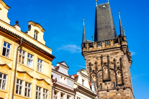 The Powder Tower. Prague, Czech Republic - slon.pics - free stock photos and illustrations