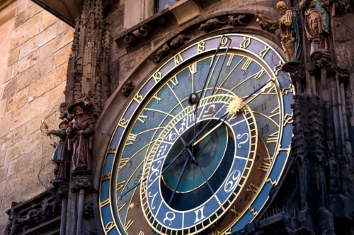 The Prague astronomical clock - slon.pics - free stock photos and illustrations