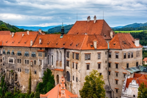 View of Cesky Krumlov Castle. Czech Republic - slon.pics - free stock photos and illustrations