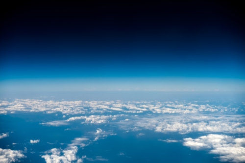 Cloudscape, view from airplane - slon.pics - free stock photos and illustrations