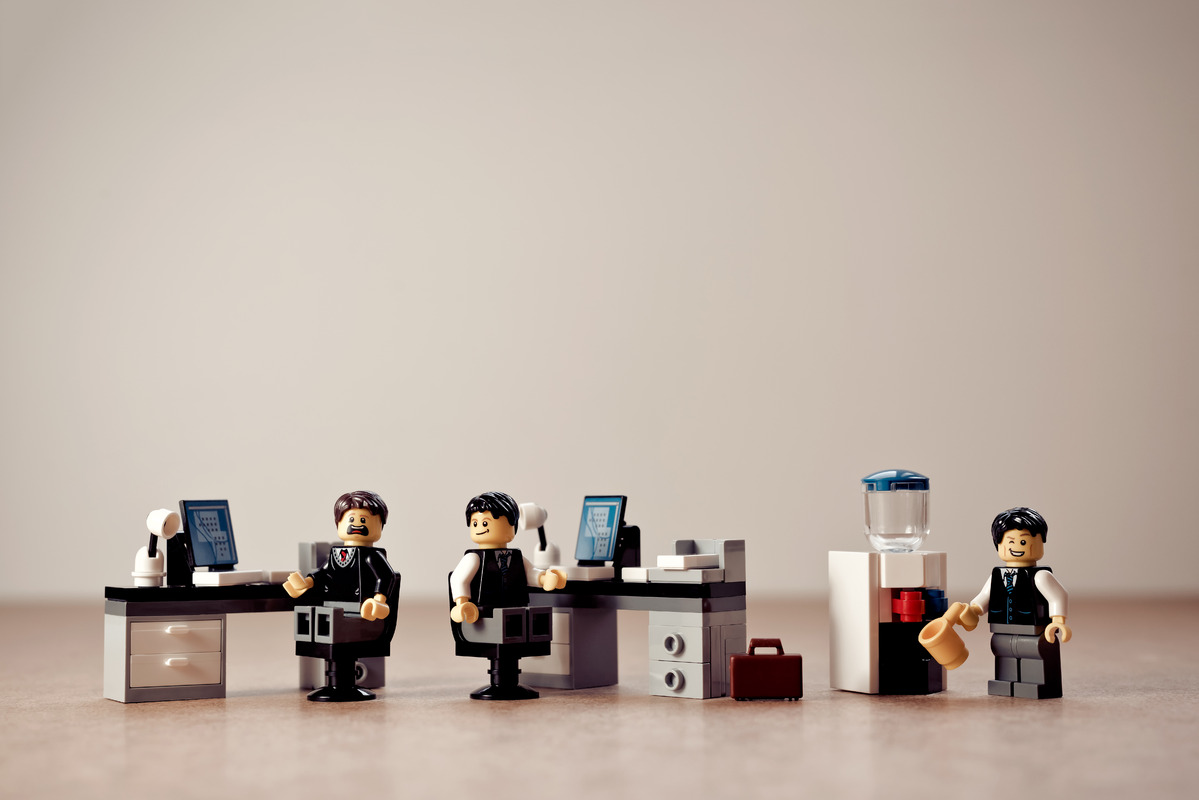 Colleagues in office - slon.pics - free stock photos and illustrations