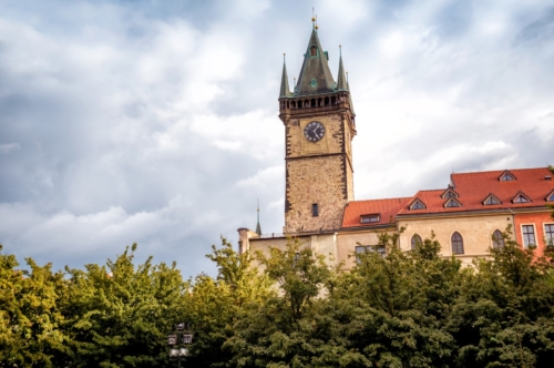 Old Town Hall. Prague, Czech Republic - slon.pics - free stock photos and illustrations