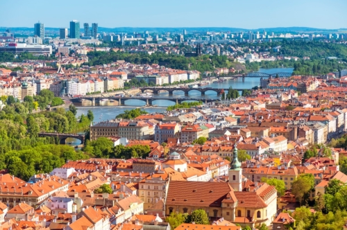 View of Prague. Czech Republic - slon.pics - free stock photos and illustrations