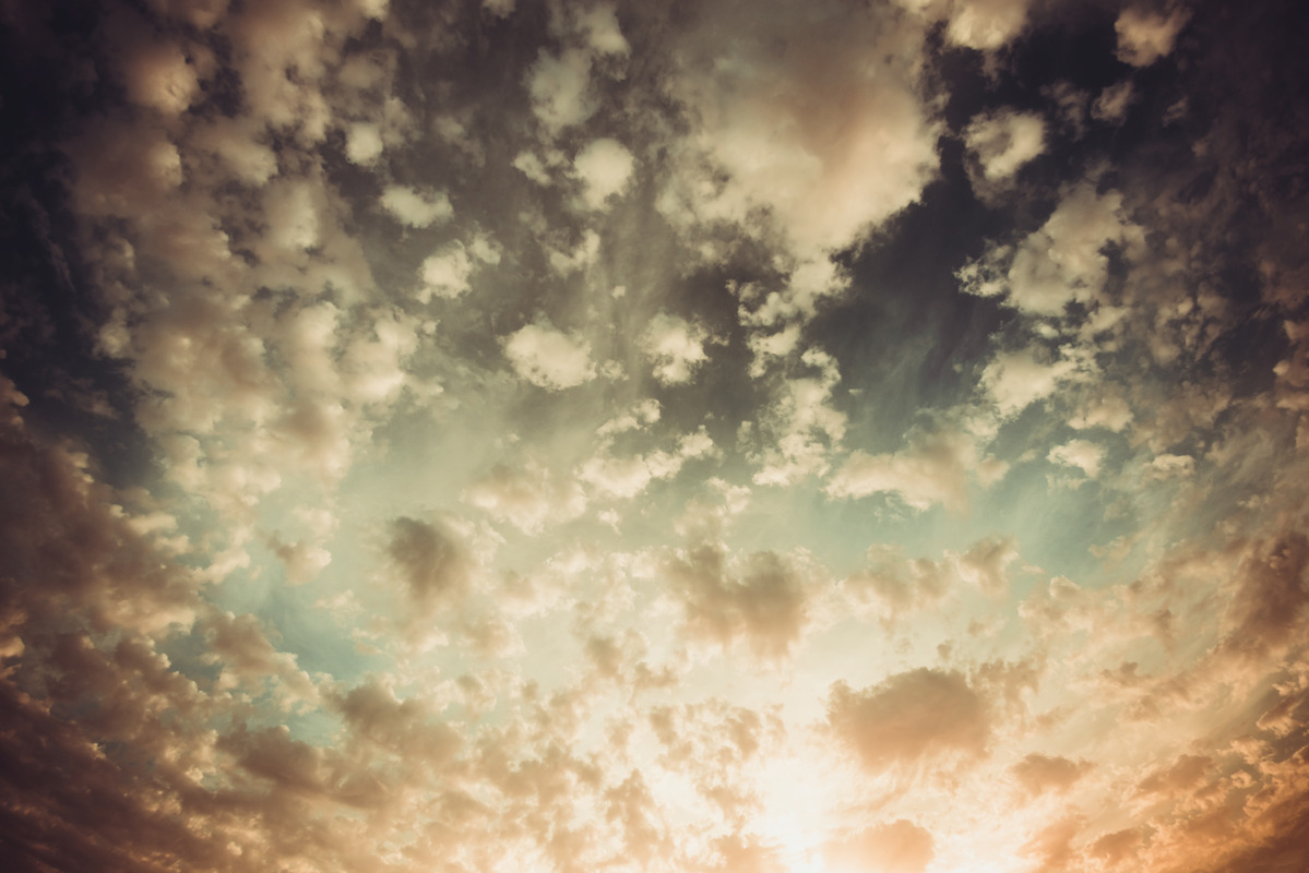 Dramatic sky with stormy clouds - slon.pics - free stock photos and illustrations