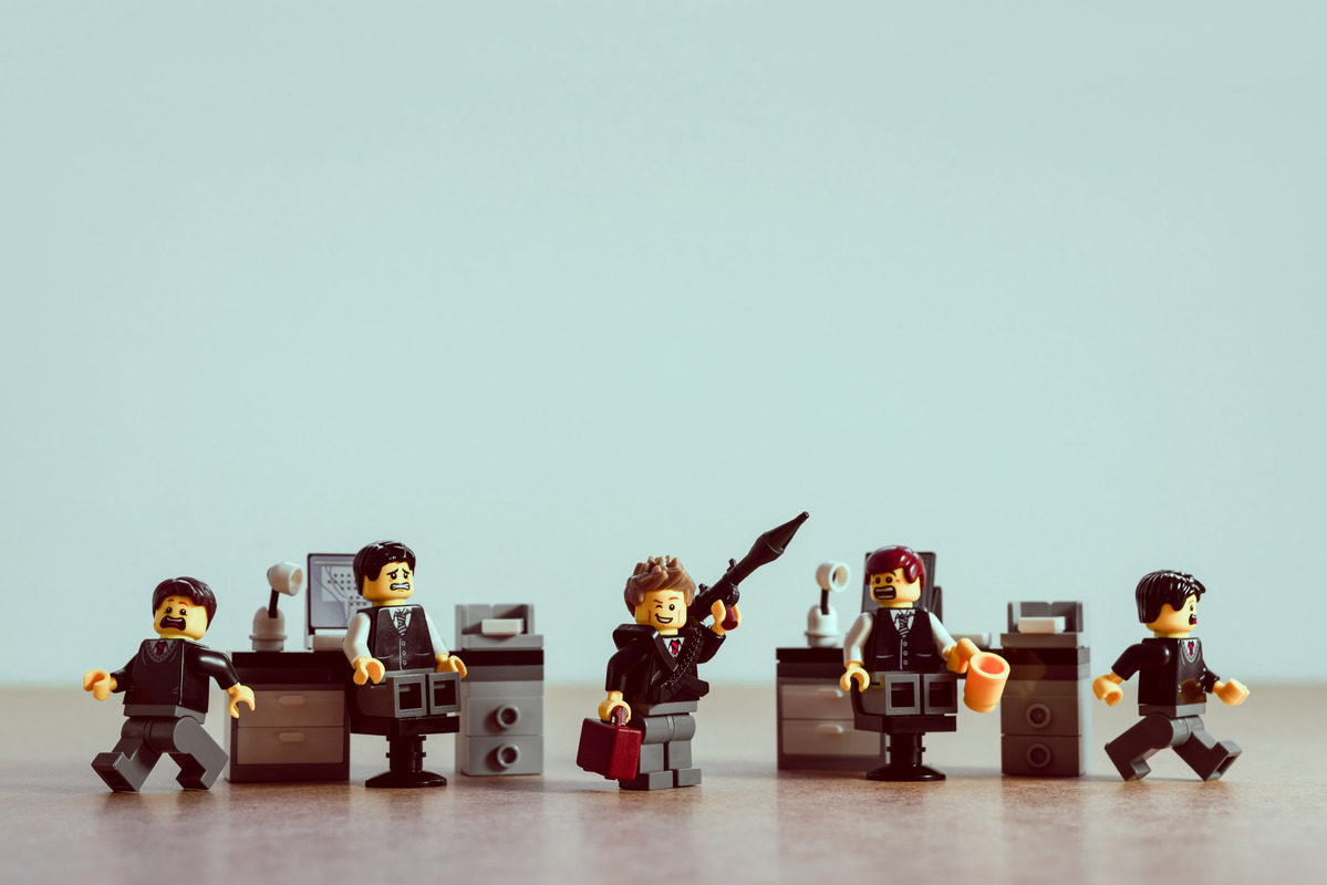A bad day in the office - slon.pics - free stock photos and illustrations