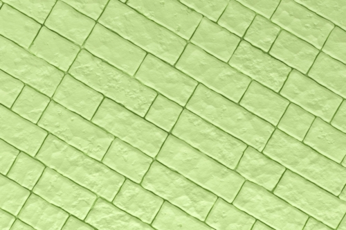 A green brick wall. 3D illustration - slon.pics - free stock photos and illustrations