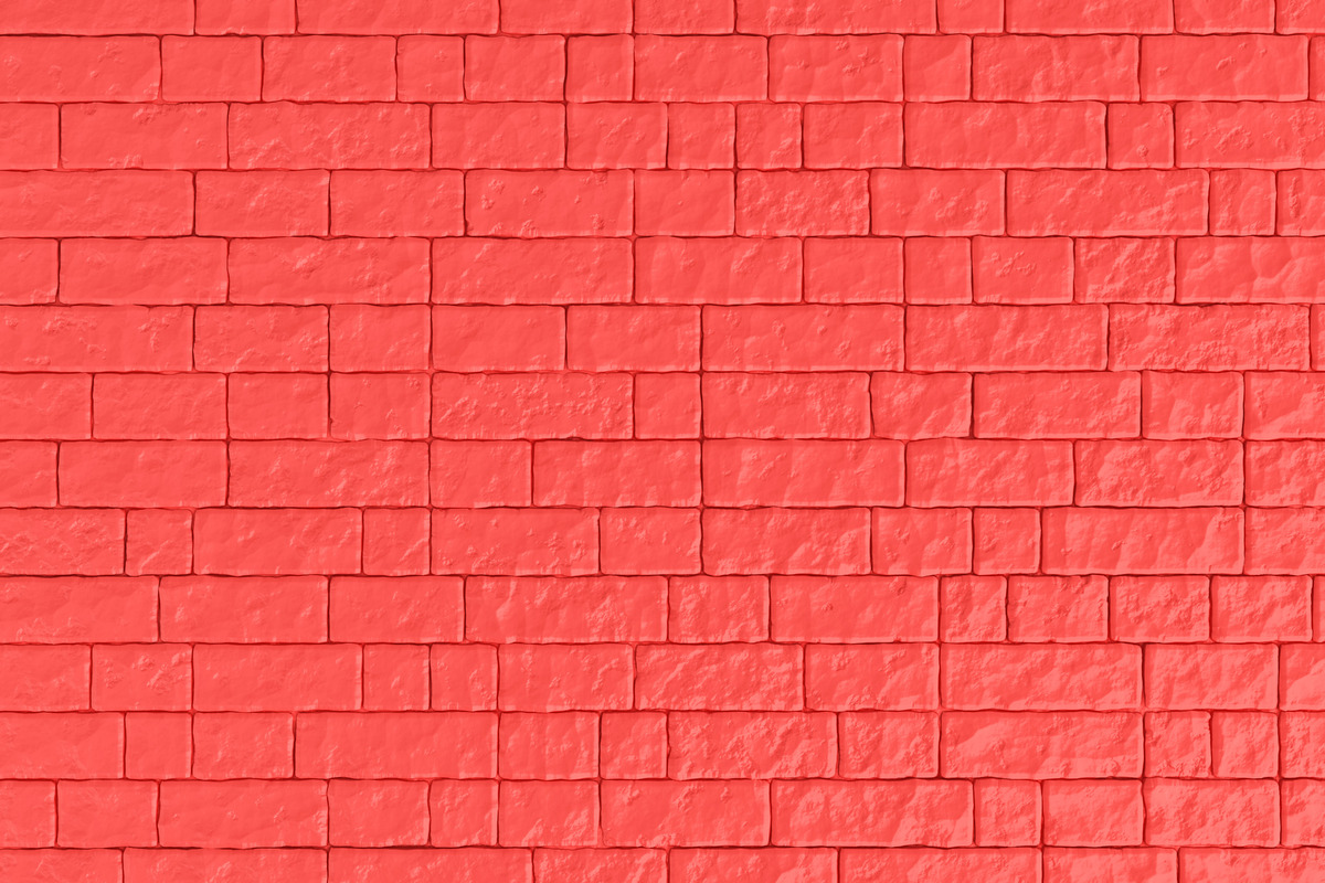 A red brick wall. 3D illustration - slon.pics - free stock photos and illustrations