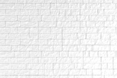 A white brick wall. 3D illustration - slon.pics - free stock photos and illustrations