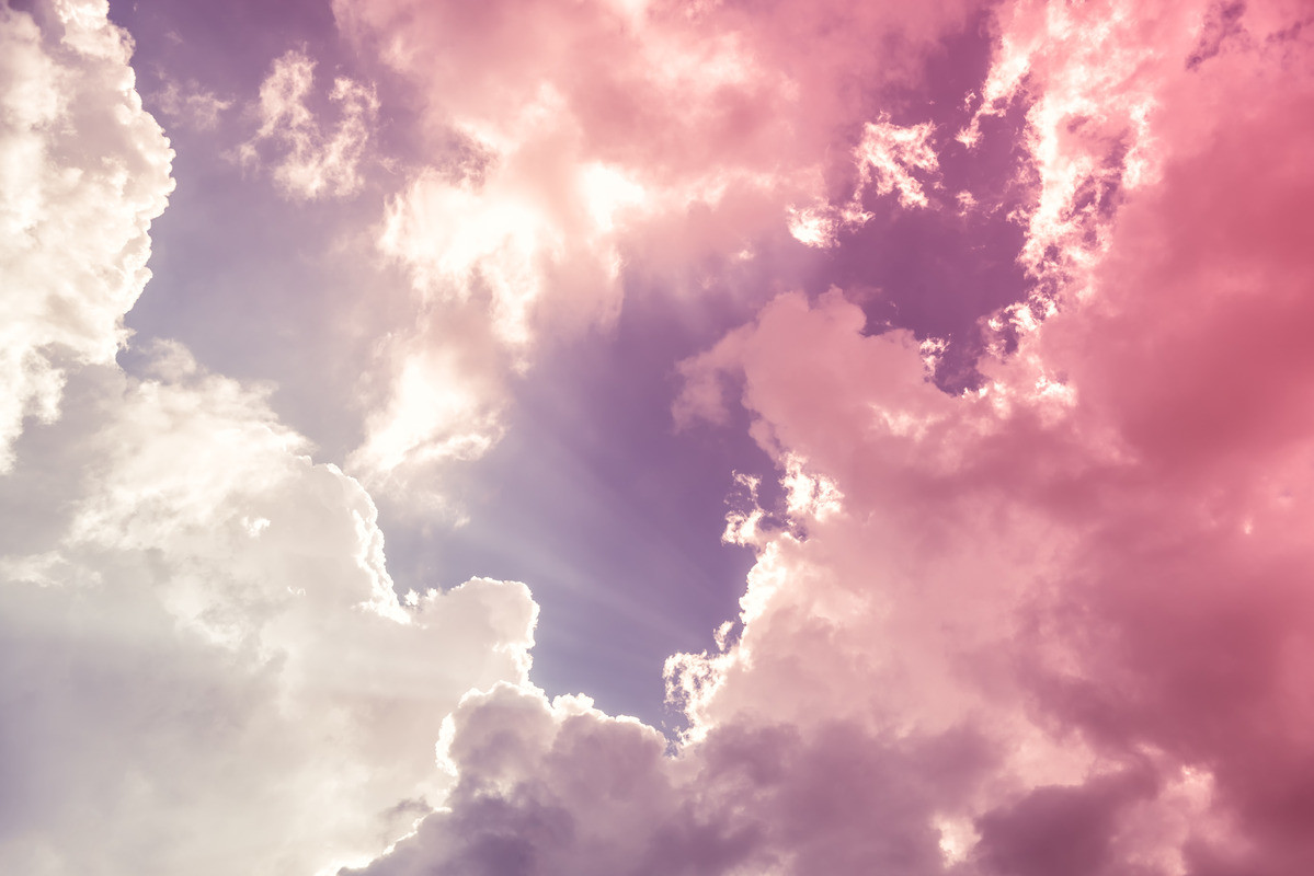 Colorful clouds - slon.pics - free stock photos and illustrations