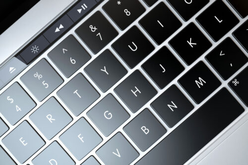 Laptop keyboard - slon.pics - free stock photos and illustrations