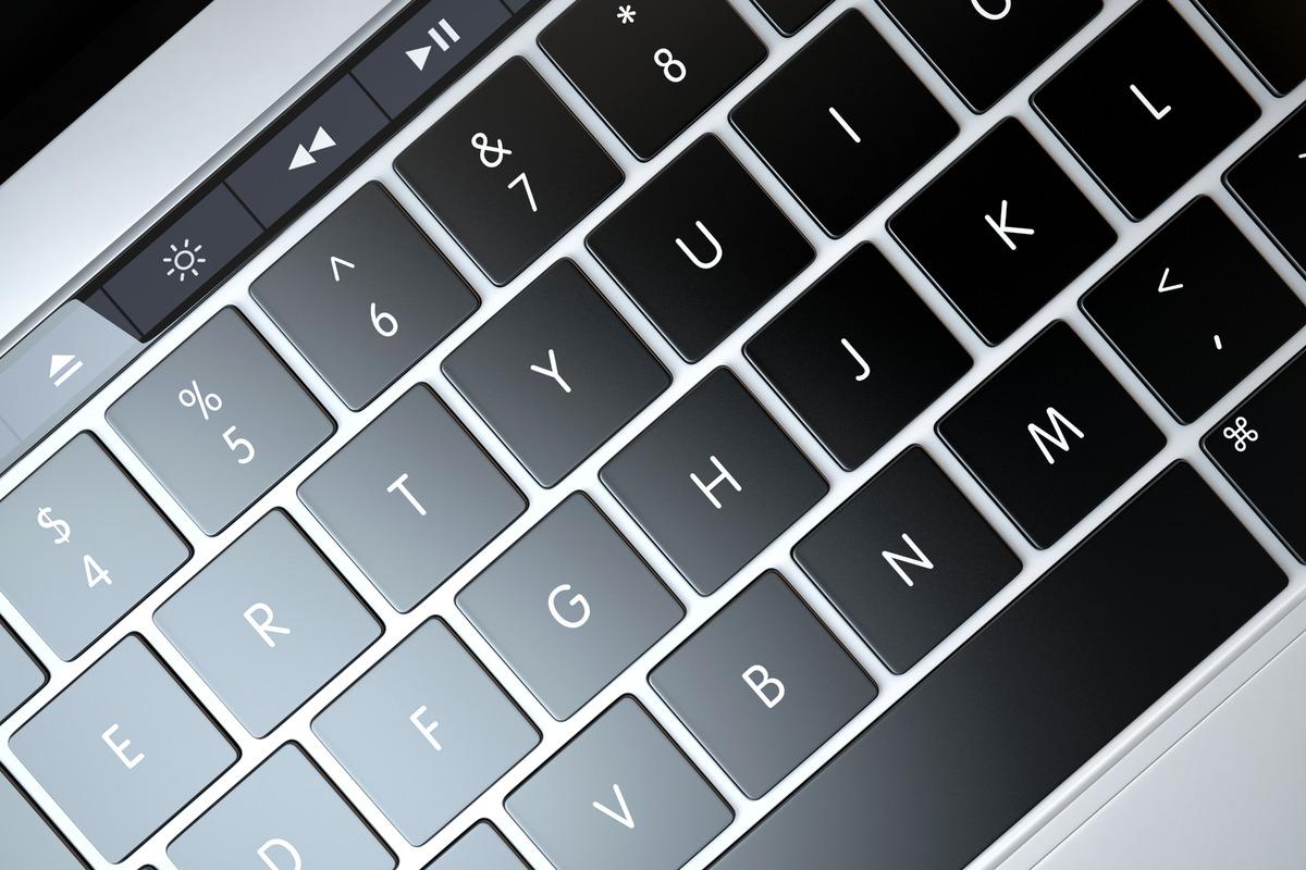 Laptop keyboard - slon.pics - free stock photos and illustrations