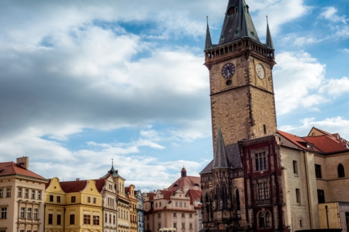Old town hall at old town square. Prague, Czech Republic - slon.pics - free stock photos and illustrations