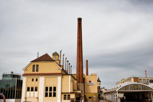 Pilsner Urquell Brewery. Plzen (Pilsen), Czech Republic, May 22, 2017 - slon.pics - free stock photos and illustrations