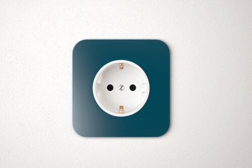 Power socket closeup - slon.pics - free stock photos and illustrations