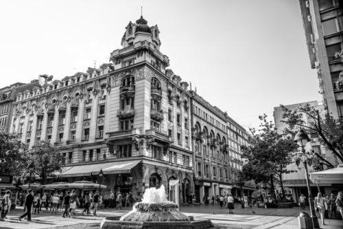 Republic square. Belgrade, Serbia. September 23, 2015 - slon.pics - free stock photos and illustrations