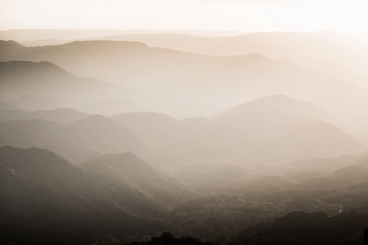 Silhouettes of mountains - slon.pics - free stock photos and illustrations