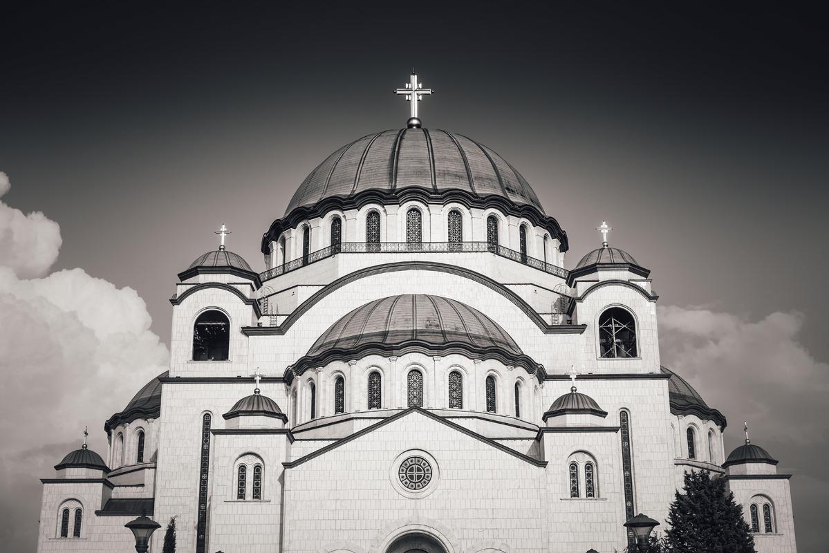 St Sava Orthodox Church. Belgrade, Serbia - slon.pics - free stock photos and illustrations