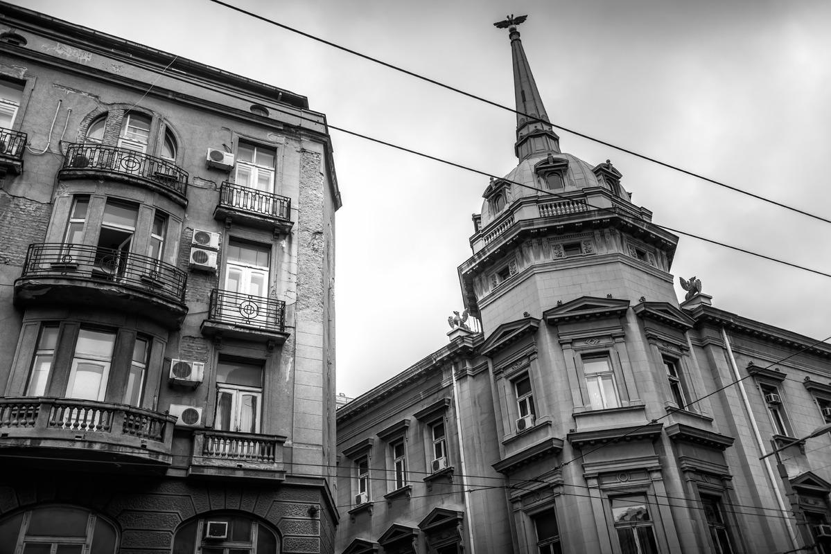 Stari dvor (Old Palace) a former royal residence. Belgrade Serbia - slon.pics - free stock photos and illustrations