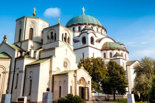 The Church of Saint Sava. Belgrade, Serbia - slon.pics - free stock photos and illustrations
