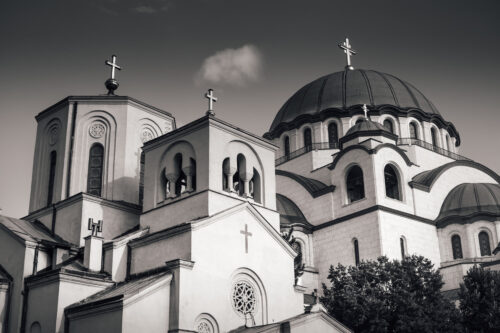 The Church of Saint Sava. Belgrade, Serbia. - slon.pics - free stock photos and illustrations