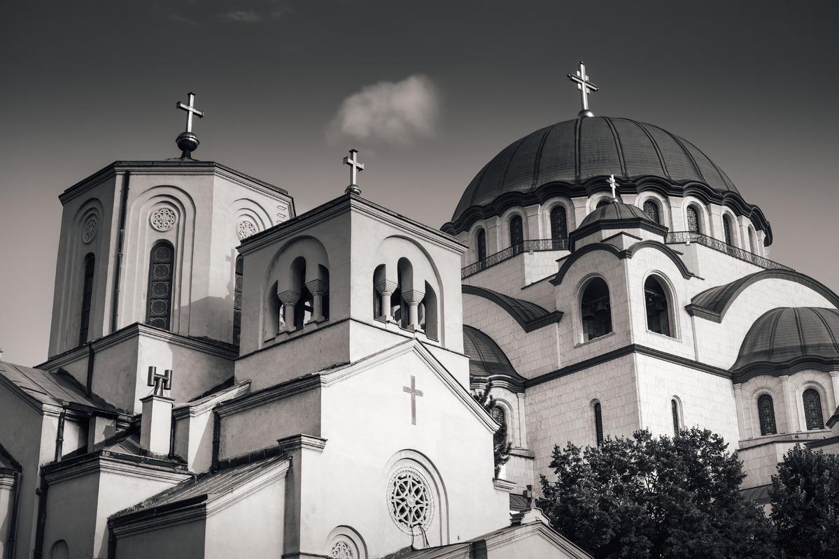 The Church of Saint Sava. Belgrade, Serbia. - slon.pics - free stock photos and illustrations