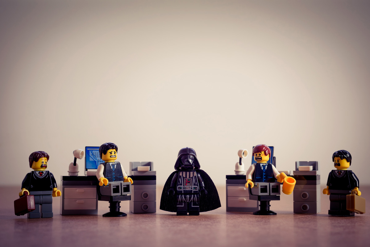 Vader in the office - slon.pics - free stock photos and illustrations
