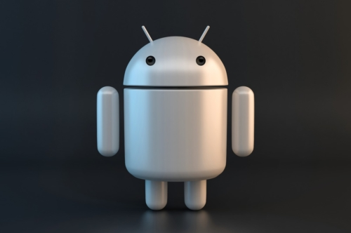 Gary Android Robot. 3D illustration. Contains clipping path - slon.pics - free stock photos and illustrations