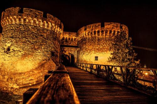 Kalemegdan. Fortress towers. Belgrade, Serbia - slon.pics - free stock photos and illustrations