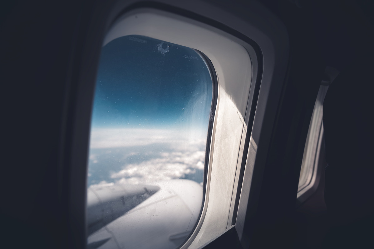 Airplane window - slon.pics - free stock photos and illustrations
