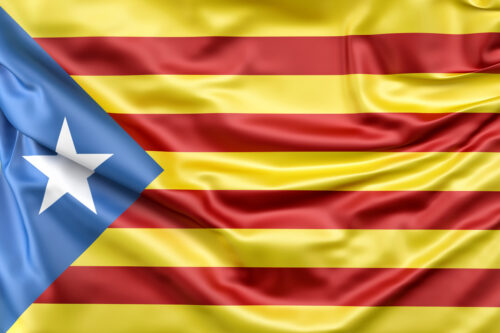 Flag of Catalonia - slon.pics - free stock photos and illustrations