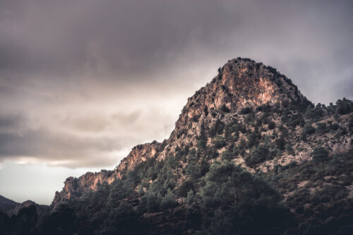 Peak at Kyrenia Mountain Range. Cyprus - slon.pics - free stock photos and illustrations