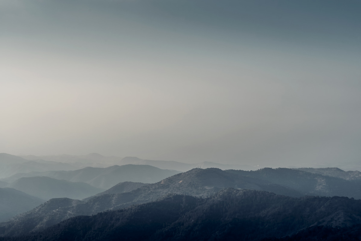 Forest and mountains landscape - slon.pics - free stock photos and illustrations