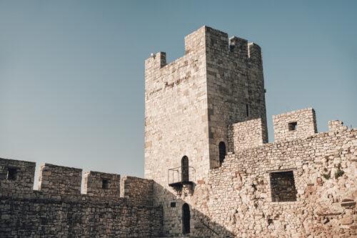 The Despot Stefan Tower or Dizdar Tower in Kalemegdan fortress. Belgrade, Serbia - slon.pics - free stock photos and illustrations