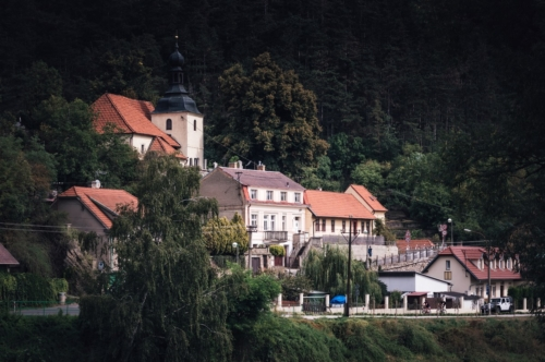 View of Karlstejn village. Czech Republic - slon.pics - free stock photos and illustrations