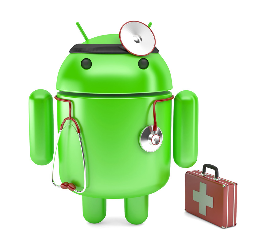 Doctor Droid. 3D illustration. Isolated. Contains clipping path - slon.pics - free stock photos and illustrations